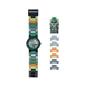 Lego Kinder Analog Quarz Uhr mit Plastik Armband 8020523