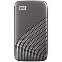 WD My Passport SSD 2 TB externe SSD (externe Festplatte mit SSD Technologie, NVMe-Technologie, USB-C und USB 3.2 Gen-2…