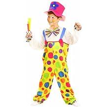 Kids - Disfraz de payaso de circo para niño, talla 4 - 6 años (U37 707)