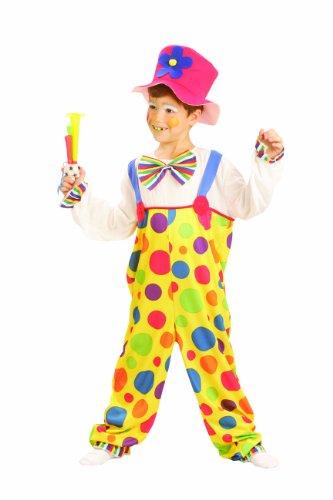 Imagen de kids  disfraz de payaso de circo para niño, talla 4  6 años u37 707