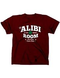 The Alibi Room Bar Frank Gallagher Fan Logo T-Shirt TV Serie