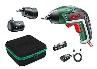 Bosch IXO Set - Atornillador a batería (Accesorios angular y excéntrico, 10 puntas para atornillar, cargador USB, estuche metálico, 3.6V, 1.5Ah) (B00TTZXWPW) | Amazon Products