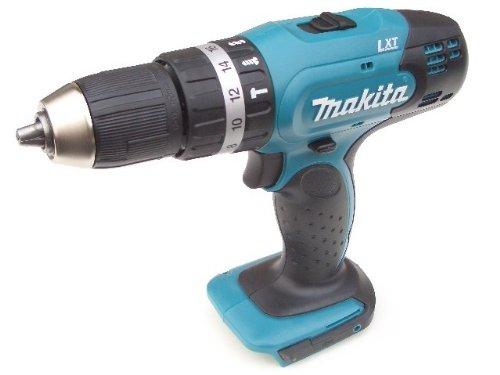 Preisvergleich Produktbild Makita BHP 453 18 V Li-ION Akku Schlagbohrschrauber Solo - nur das Gerät ohne Zubehör, ohne Akku ohne Lader ohne Koffer