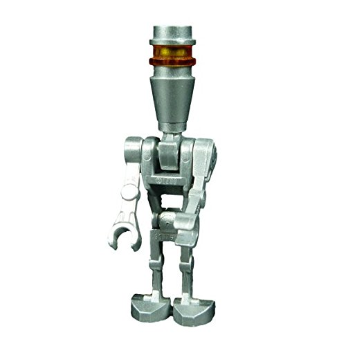 Lego Star Wars Figur Battel Droid Kampf Droide in metallic silber aus 6209 8015 Assassin (Wars Kampf Star)