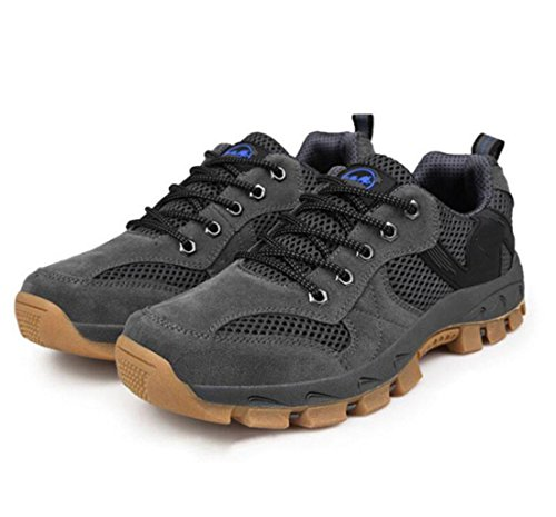 Z&HX sportsChaussures de plein air chaussures de chaussures de r¨¦paration de mailles chaussures de montagne antid¨¦rapantes et respirantes chaussures de sport gray