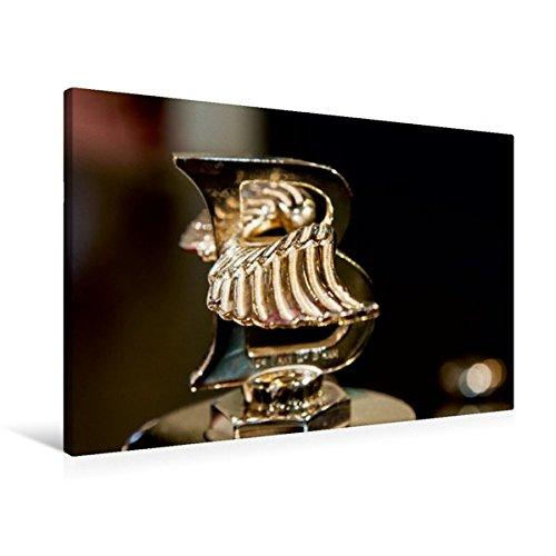 Premium Textil-Leinwand 90 cm x 60 cm quer, Bentley Kühlerfigur | Wandbild, Bild auf Keilrahmen, Fertigbild auf echter Leinwand, Leinwanddruck (CALVENDO Mobilitaet) (Bentley-kühlerfigur)