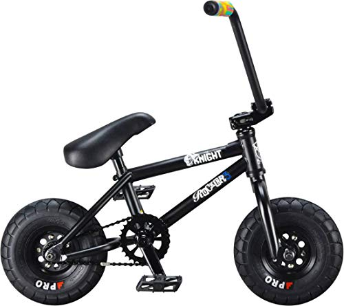 Rocker 3+ The Knight Mini BMX Bike (Schwarz)