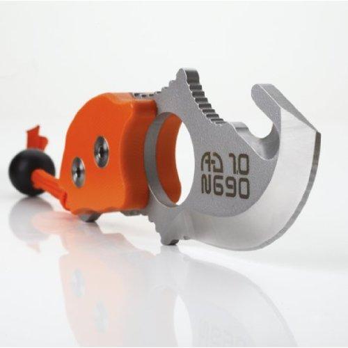 A de d 1.0 avec poignée rigide Neck Knife Allday Orange