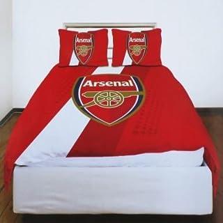 Offizielles ARSENAL FC Doppel Bettbezug Set (inkl. 2x Kissenbezüge)