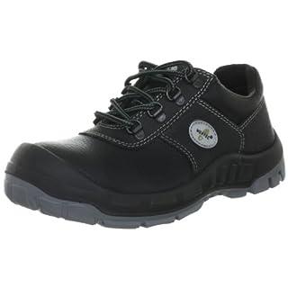 Wortec LENNY S3 23001, Unisex - Erwachsene Arbeits- & Sicherheitsschuhe - S3, Schwarz (keine), EU 43