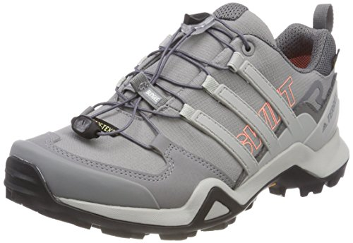 adidas Damen Terrex Swift R2 GTX Trekking-& Wanderhalbschuhe, Grau (Gritre/Gridos/Cortiz 000), 40 EU