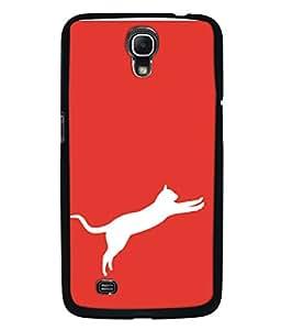 PrintVisa Designer Back Case Cover for Samsung Galaxy Mega 6.3 I9200 :: Samsung Galaxy Mega 6.3 Sgh-I527 (Jumping Cat Shadow Pet Wild)