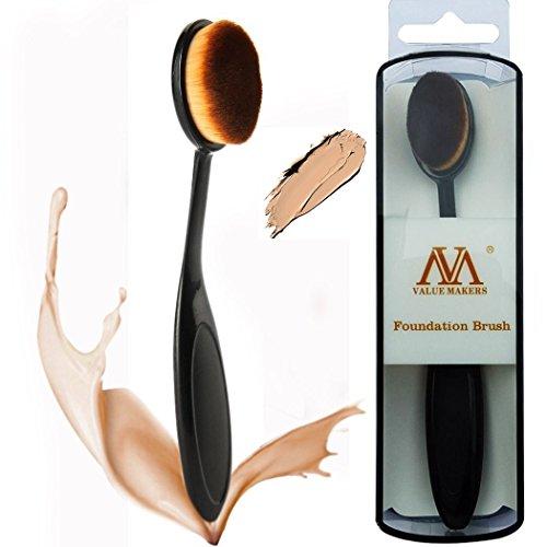 value-makers-suave-sintetico-del-maquillaje-del-pelo-del-cepillo-de-dientes-del-cepillo-oval-liquid-