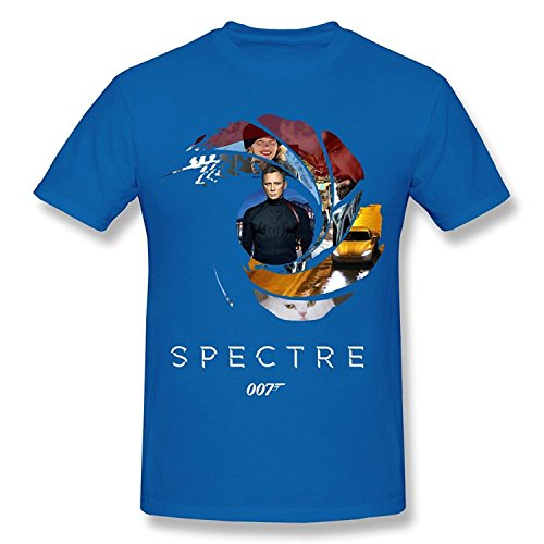 mens-short-sleeve-t-shirt-007-spectre-movie-series-james-bond-red-large