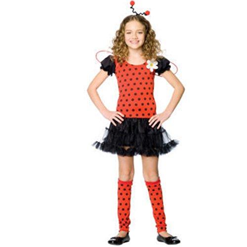 Daisy Kostüm Bug - Leg Avenue - Daisy Bug Kostüm - L - Rosa/Schwarz - C48106