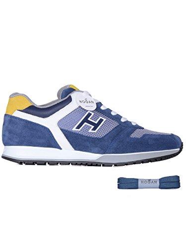 Hogan, Herren Trekking- & Wanderstiefel  blau blau 45 Blau
