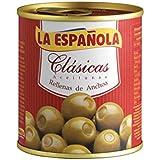 La Española Aceitunas Verdes Rellenas de Anchoa Clásicas - 200 g
