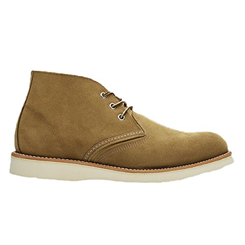 Red Herren Wing-chukka-stiefel (Red Wing Mens Chukka 3149 Brown Suede Boots 42 EU)
