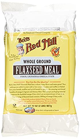 Bob's Red Mill Flaxseed Meal, 32 oz (2 lbs) 907 g 3.9 x 5.9 x 8.7 inches