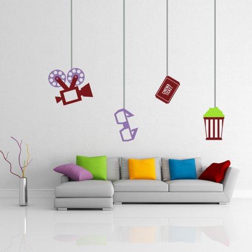 il-cinema-proiettore-da-parete-occhiali-da-parete-citazione-popcorn-a-tema-adesivo-da-parete-living-