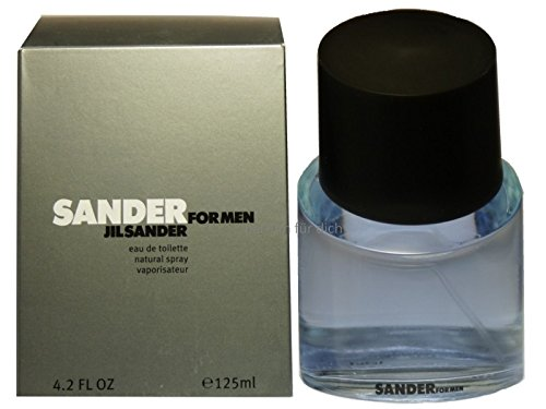 Jil Sander Sander Men, homme/man, Eau de Toilette, 1er Pack (1 x 125 ml)