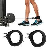 Türkei 2Sport Ankle Anchor Strap Doppel D-Ring Gym Bein Riemenscheibe Strap Lifting Fitness