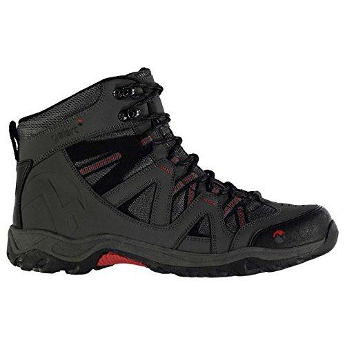 Gelert Herren Ottawa Mid Wanderstiefel Wanderschuhe Trekking Stiefel Outdoor Boots Charcoal