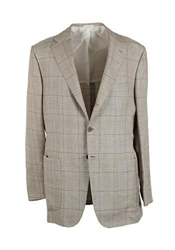 cl-kiton-sport-coat-size-52-42r-us-linen-cashmere-silk