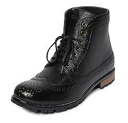 Bacca Bucci Mens Black Boots - 8 UK, BBMA2134A