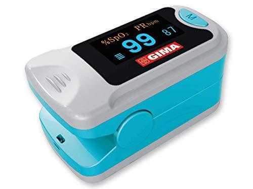 GIMA SATURIMETRO OXY- Pulsossimetro da dito portatile