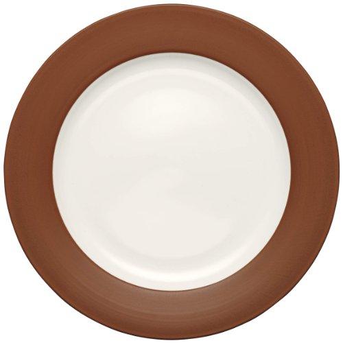 Noritake Colorwave Rim Dinner Plate, Terra Cotta by Noritake Rim Dinner Plate