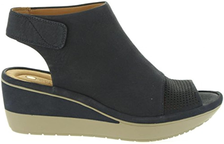 Clarks Chaussures compensées pour 26133983 Femme 26133983 pour WYNNMERE Navy NubuckB07B91XFC3Parent 48c215