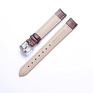 Echtem Kalbsleder Ersatz Uhrenarmband Leder Multicolor (12mm,14mm,16mm,17mm,18mm,19mm,20mm,21mm,22mm,23mm,24mm)