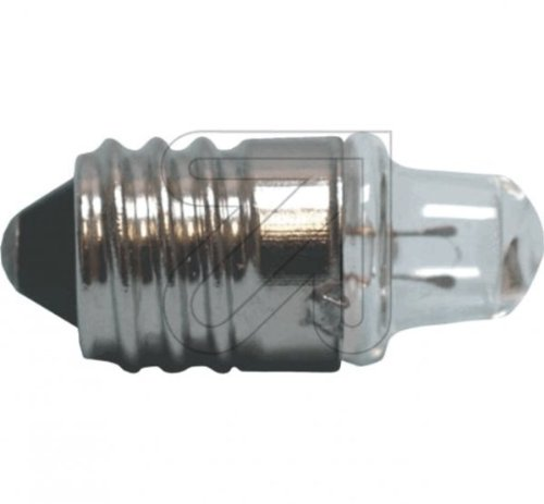 10 Stück Spitzlinsen Birne E10 1,2V 0,22A Glühlampe Glühbirne