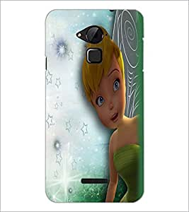 PrintDhaba Cute Girl D-2283 Back Case Cover for COOLPAD NOTE 3 LITE (Multi-Coloured)