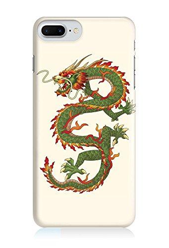 COVER Drache China dragon grün Design Handy Hülle Case 3D-Druck Top-Qualität kratzfest Apple iPhone 8 Plus