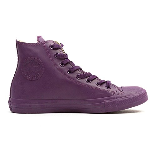 Converse Chuck Taylor All Star Rubber Hi Unisex Rubber Trainers Berry - 36.5 EU