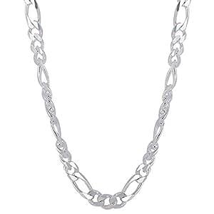 50 grams Figaro Design Men's Neck Chain (20 Inches)