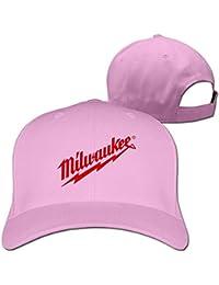 Funy hats Women s Man s Vintage Hat Power Tool Logo Milwaukee Classic Unisex  Baseball Cap Black Adjustable e0380da9daf
