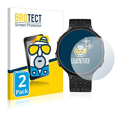 BROTECT Schutzfolie Matt für Garmin Forerunner 235 [2er Pack] - Anti-Reflex, Anti-Fingerprint, Anti-Kratzer