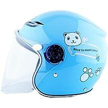 MSF Cascos Casco para niños, casco de motocicleta, gorra protectora para autos eléctricos,