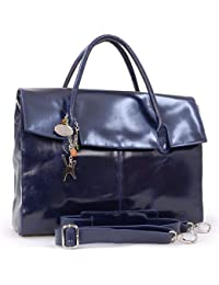 1133caad65be Catwalk Collection Handbags - Ladies Extra Large Leather Briefcase Shoulder Cross  Body Bag - Women s Organiser…