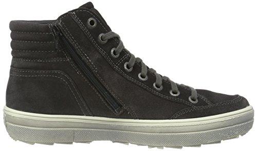Legero Ladies Mira 700630 Sneakers Alte Grigio (lavagna 98)