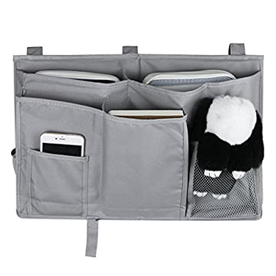 Bed Tidy, 8 Pockets Bedside Caddy Cabin Beds Students Dormitory Bunks Hanging Bed Pocket Crib Diaper Bag Stroller Car Seat Organiser Tidy Holder Container Storage - inexpensive UK light store.