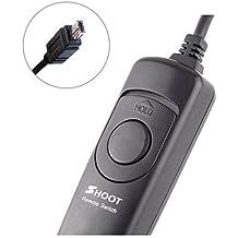 Shoot disparador remoto, cable disparador, 3metros de longitud de cable para Nikon D750, D7100, D7000, D5500, D5200, D5100, D5000, D3300, D3200, D3100, D600, D90–similar a MC-DC2Cable disparador remoto
