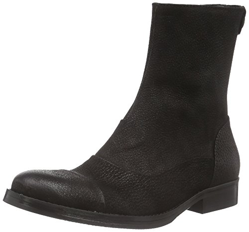 Mentor Back Zip Boot, Stivali Donna Nero (Schwarz (BlackNubuck))