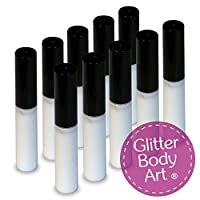 10 x 4ml Cosmetic Body Glue - Perfect for Glitter Tattoos