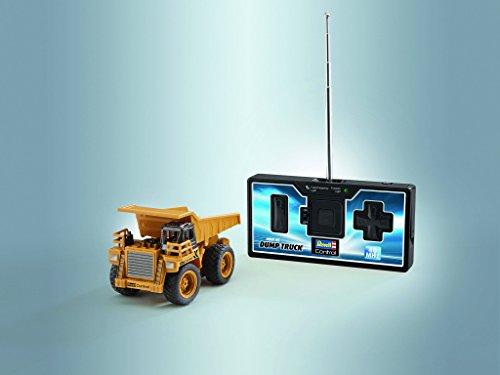 RC Auto kaufen Baufahrzeug Bild 5: Revell Control 23495 RC Baufahrzeug Kipplaster, 40MHz, Akku ferngesteuertes Auto, gelb-orange, 10 cm*
