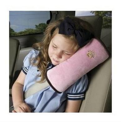 Children Kids Car Seat Belts Pillow Protect Shoulder Protection Cushion Bedding Pink - inexpensive UK light shop.