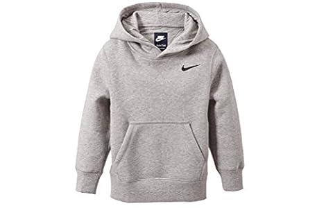 Nike Gris Pour Garçons Par La Tête À Capuche Sweat-shirt Âges 8-10y 10-12y 12-13y 13-1 - Gris, 12-13 ans / 147-158 cm